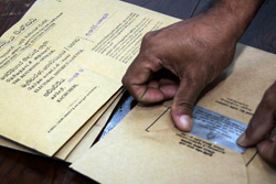 Postal Voting from today