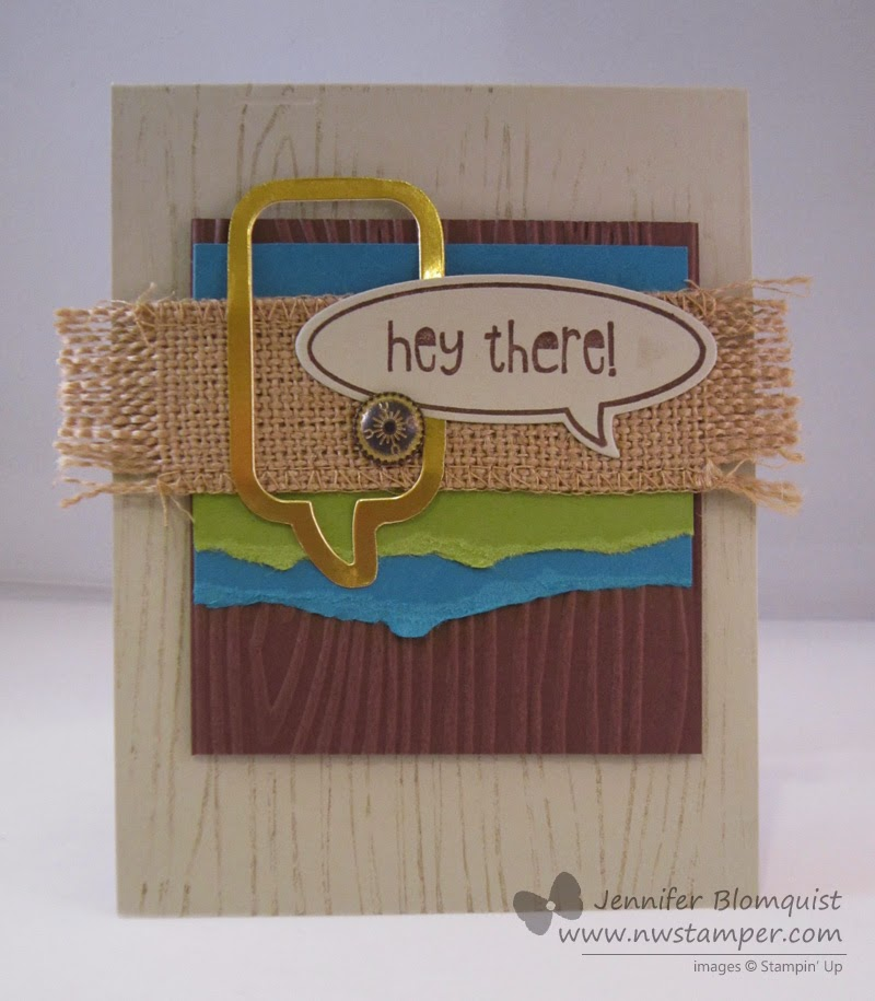 http://www.nwstamper.com/masculine-monday-with-burlap-woodgrain-and-word-bubbles