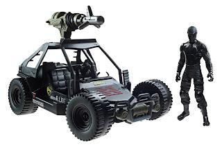 Hasbro GI Joe Retaliation Ninja Commando Vehicle with Snake Eyes