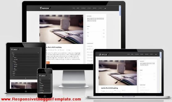 Feather SEO Responsive Blogger Template