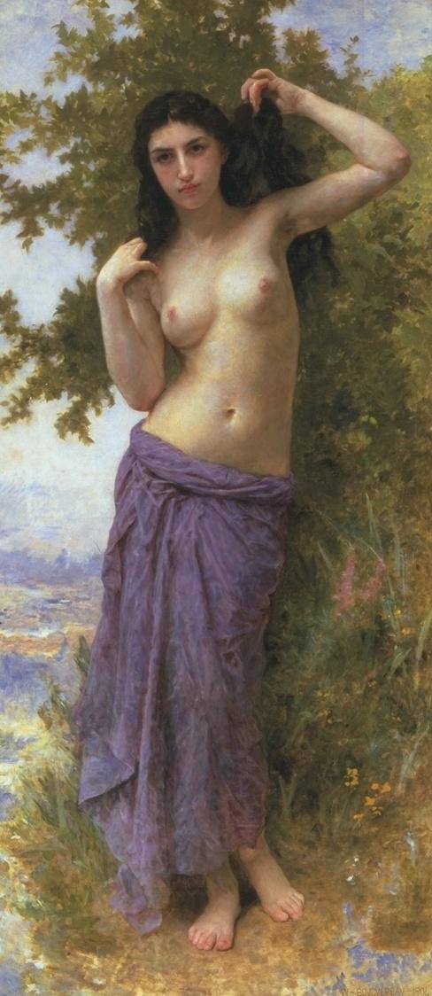 Roman girl,Bouguereau, art history
