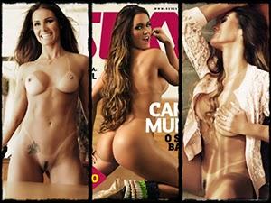 Revista Sexy - Carol Muniz - Julho 2014