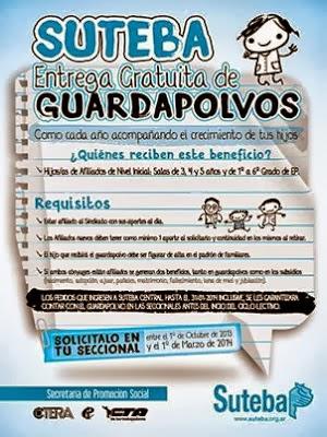 ENTREGA DE GUARDAPOLVOS A AFILIADOS