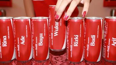 70 Nama Ini Akan Ada di Kemasan Coca-Cola, Adakah Namamu Tercantum ?