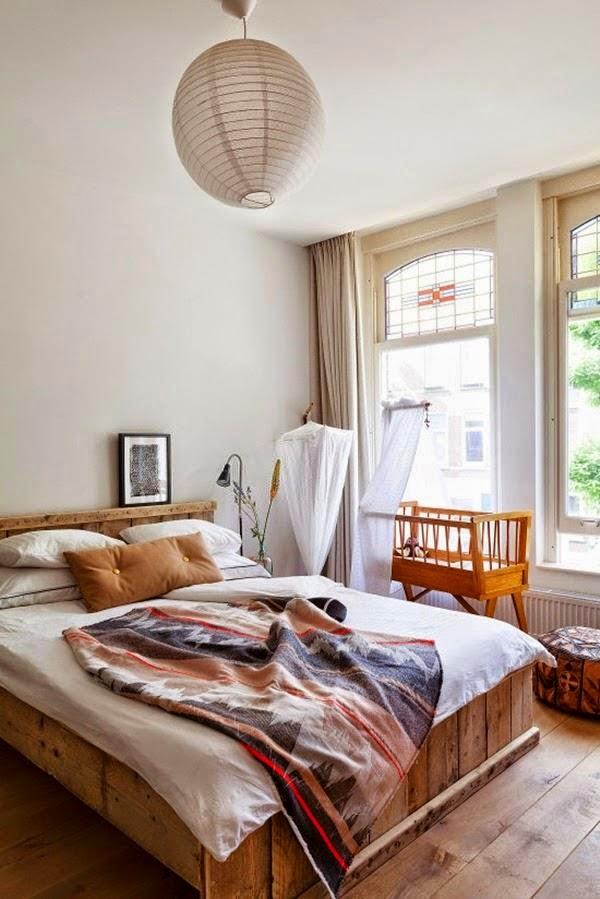 Interior elegante vivienda retro vintage llena de luz y for Vivienda y decoracion