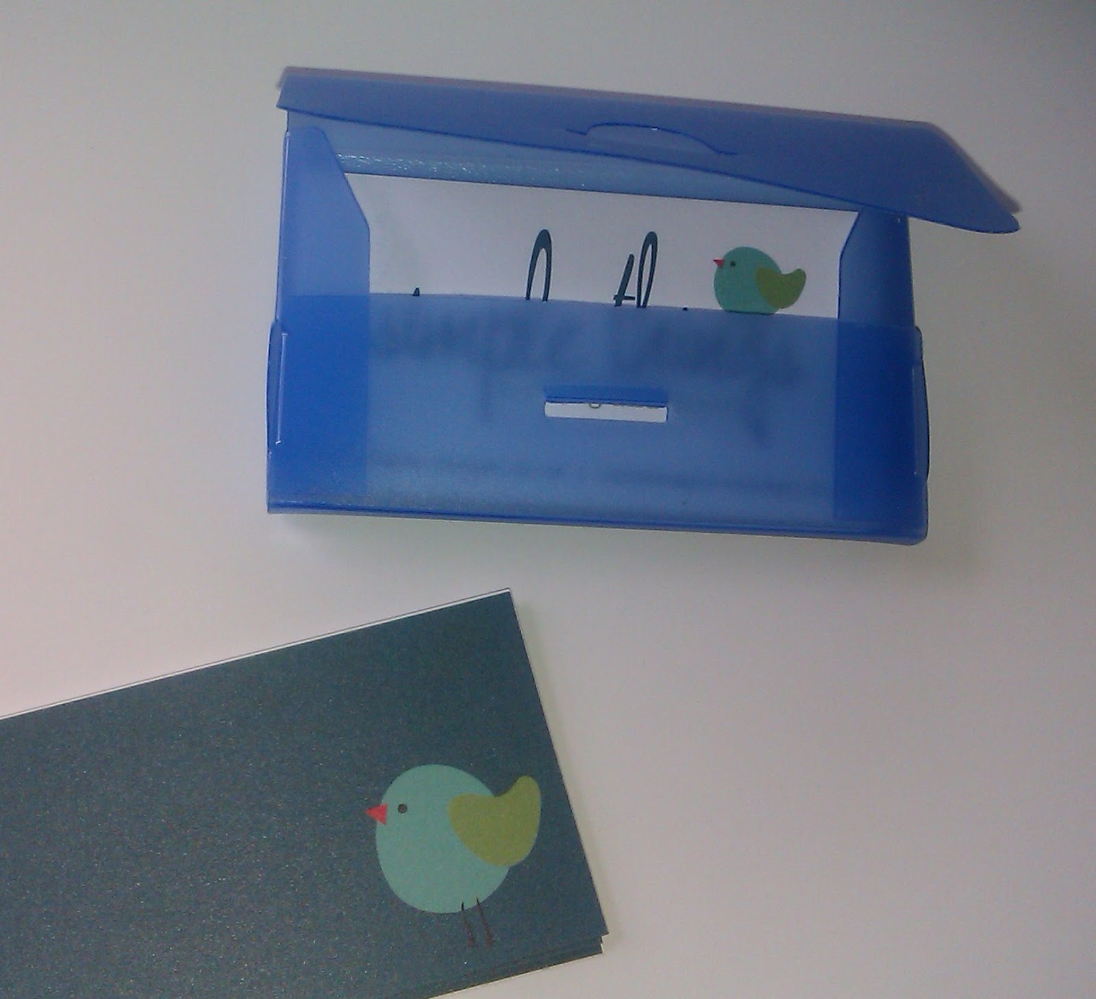 elevenses with Mrs L: Fancy a new business card holder?
