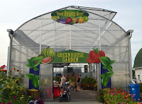 gardening display at the Indiana State Fair