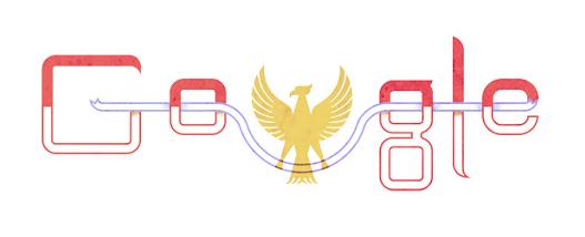Logo google doodle 17 agustus tahun 2013