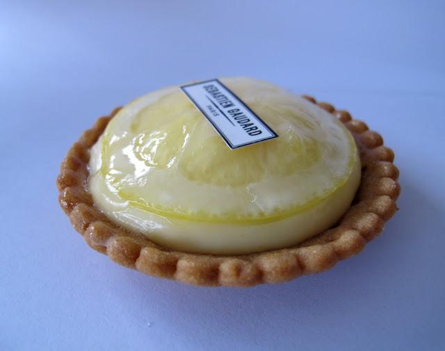 Les pâtisseries de Sébastien Gaudard - tarte au citron
