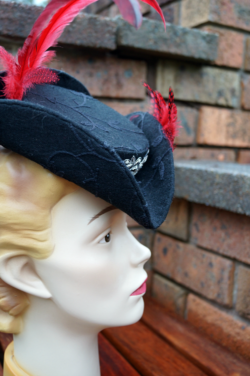 http://tanithrowandesigns.storenvy.com/products/7678554-lady-maria-miniature-tricorne