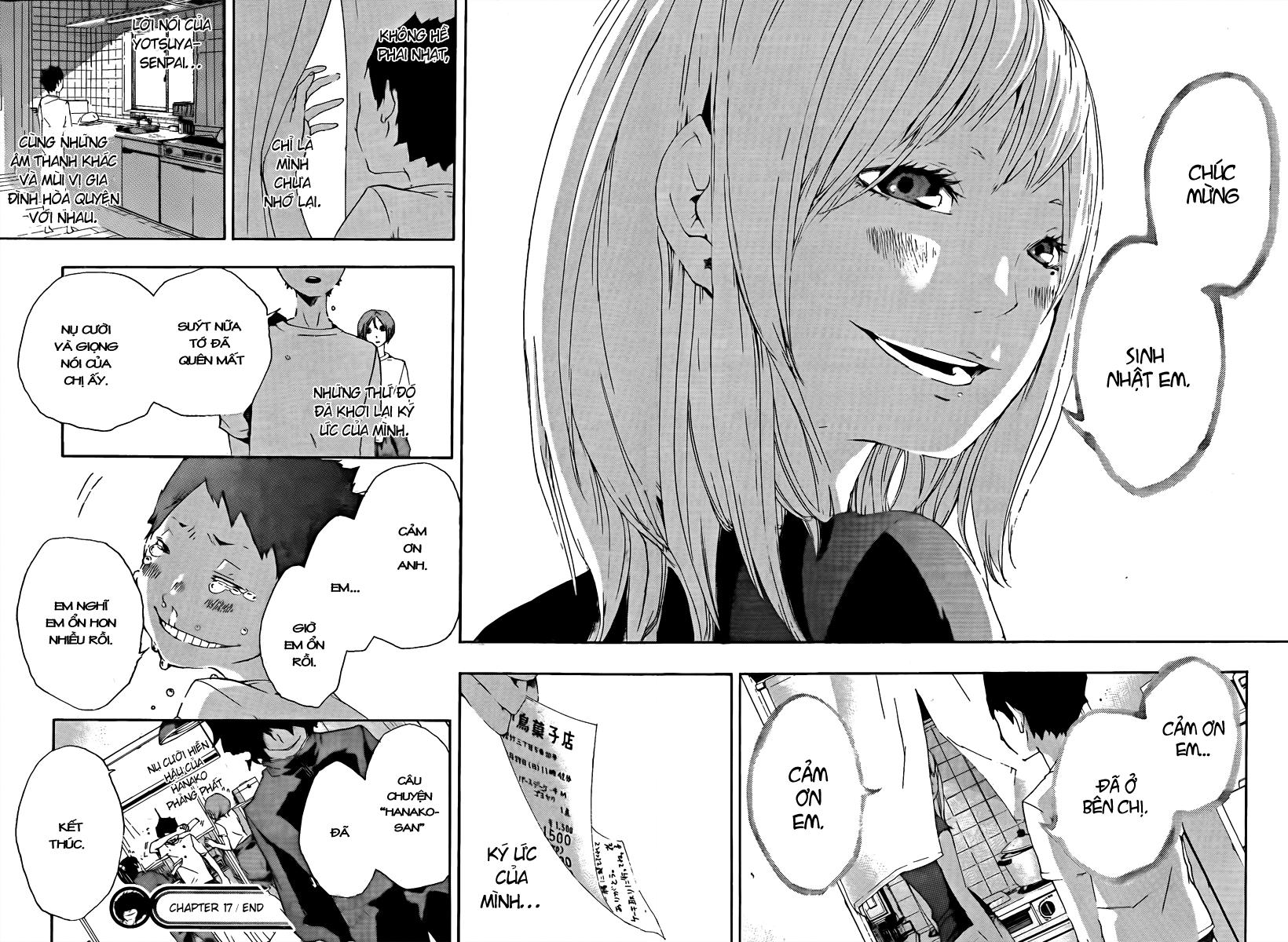 Kiben Gakuha, Yotsuya Senpai no Kaidan chap 17 Trang 18 - Mangak.info