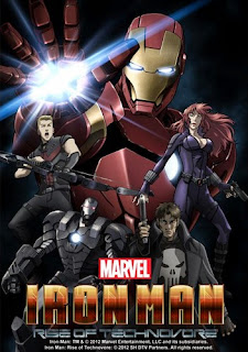 assistir - Iron Man: Rise of Technovore Dublado - online