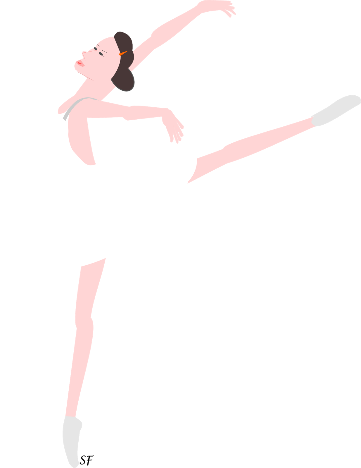 free printable ballerina png ballerina clipart graphic freebie