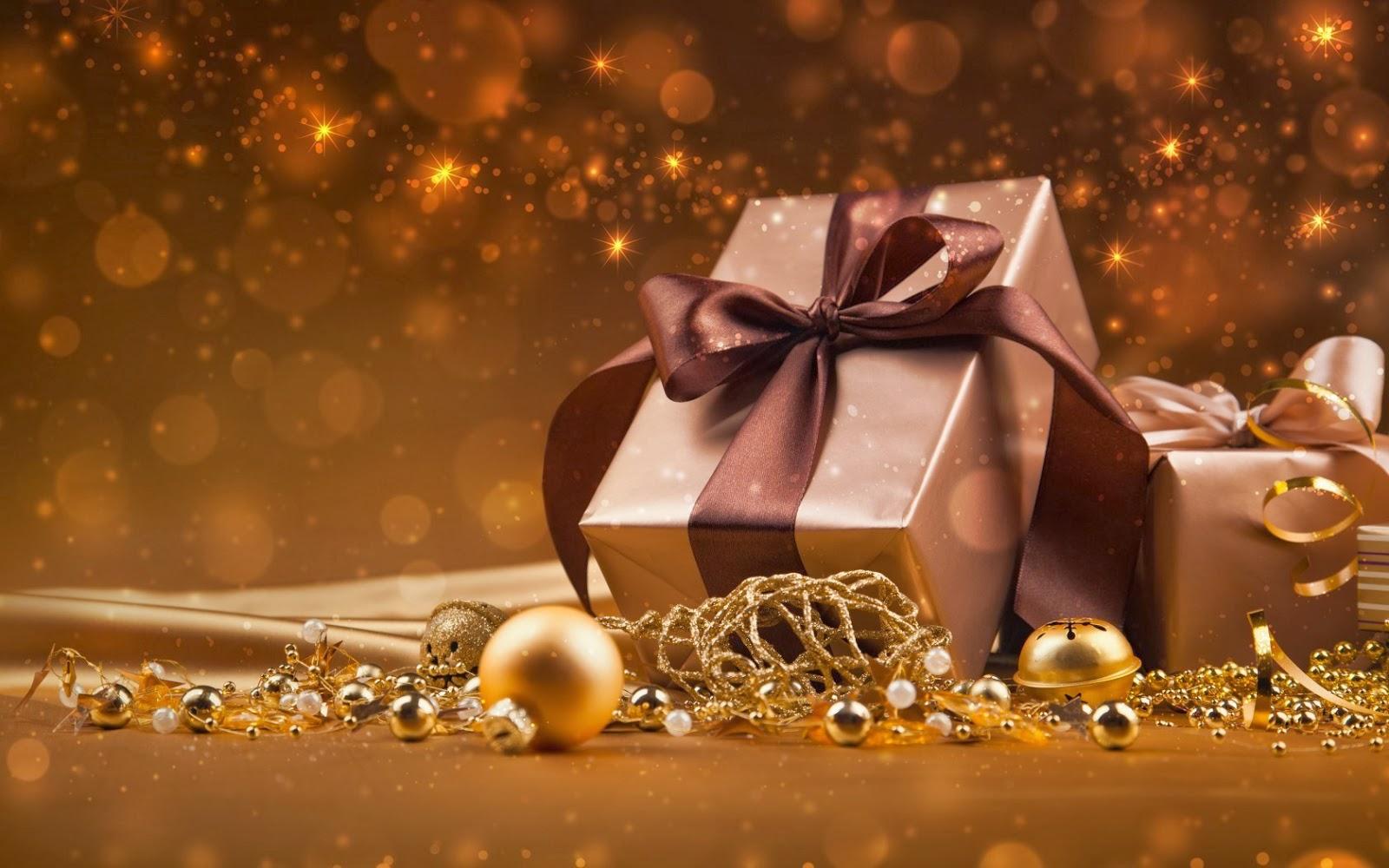 Hd Desktop Wallpaper Christmas Gifts 3d Wallpaper