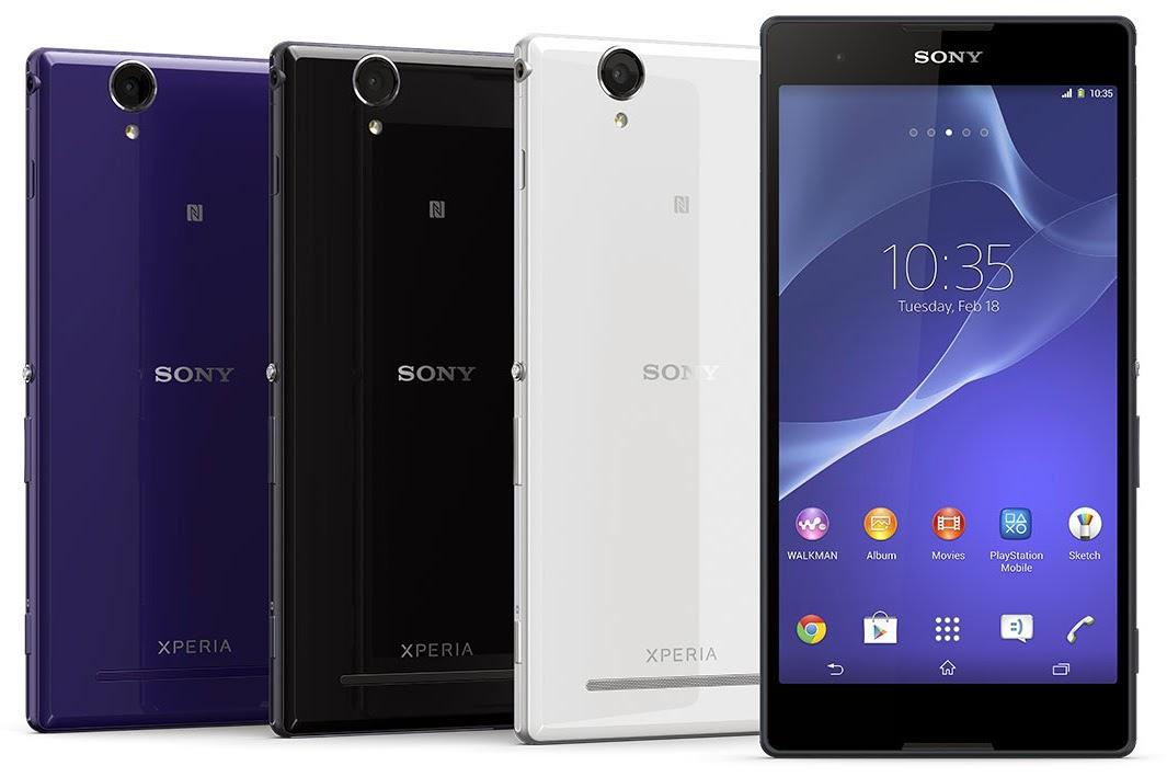 gambar Sony Xperia T2 Ultra