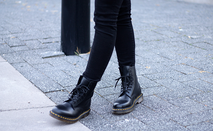 Fashion Attacks outfit ootd Dr Martens Triwa Back To Fall