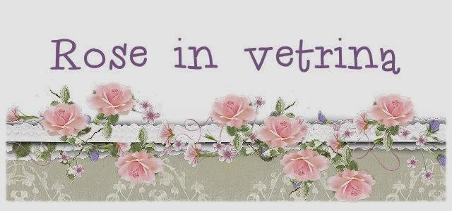 Rose in vetrina