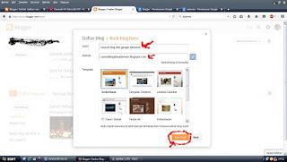 Membuat judul blog dan situs blog