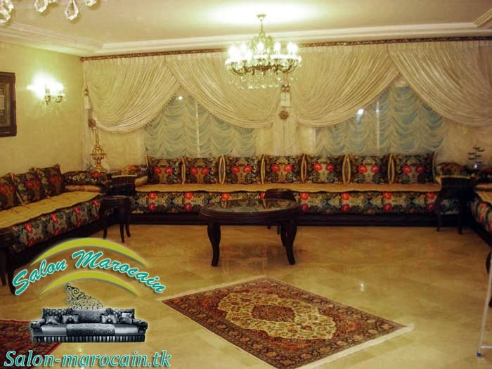 Salon marocain fabuleux déco et design