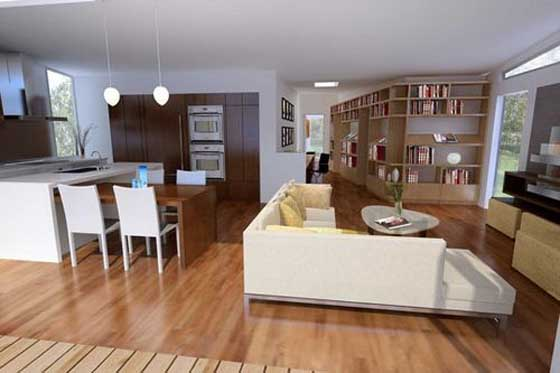 Small Open Concept Home Interior Designs