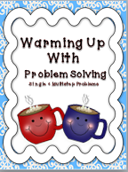 http://www.teacherspayteachers.com/Product/Warming-Up-With-Problem-Solving-Single-and-Multistep-493562