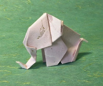 origami baby elephant easy origami instructions for kids