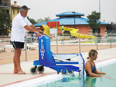 Blue Bluone Pool Lift