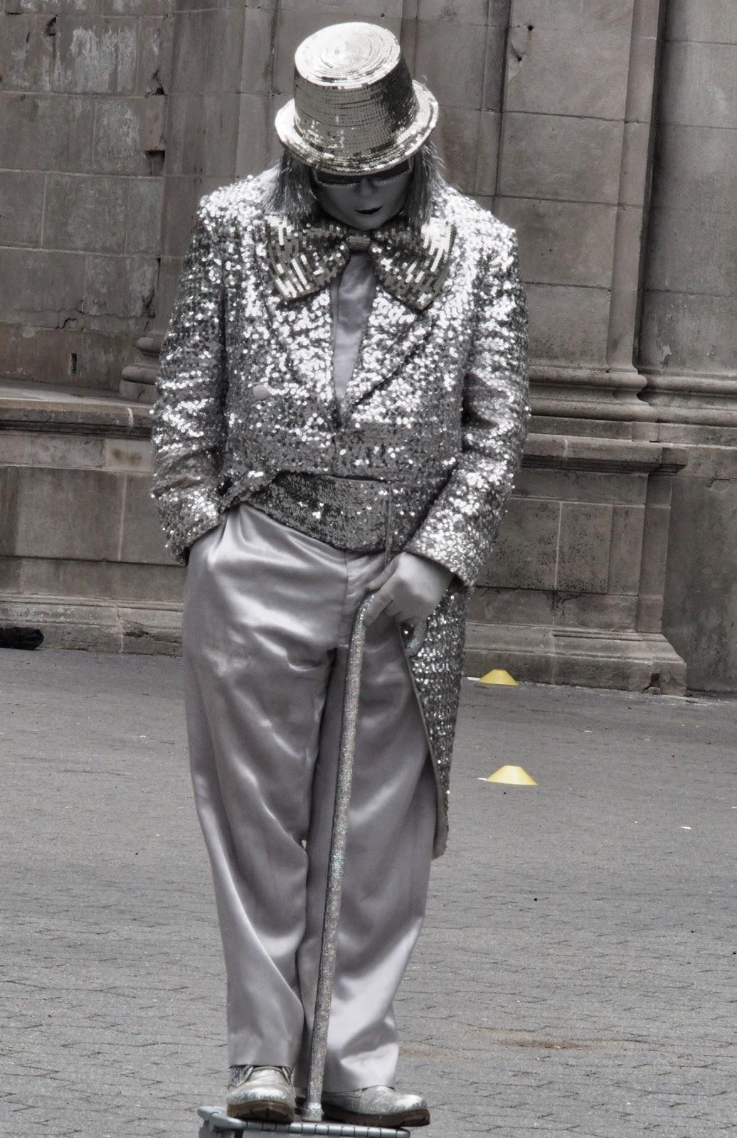 Standing Still #standingstill #nyc #streetperformers #street 2013