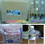 Air Zamzam Sekotak RM240 24btl/RM170 Setong 10liter dan RM15 500ml