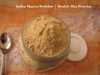 Homemade Health Mix Powder | Sathu Maavu Powder