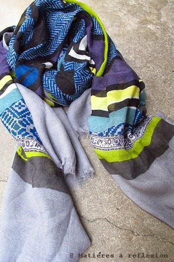 Foulard laine fine hiver 2014 Mii