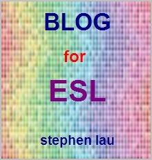 <b>Blog for ESL</b>