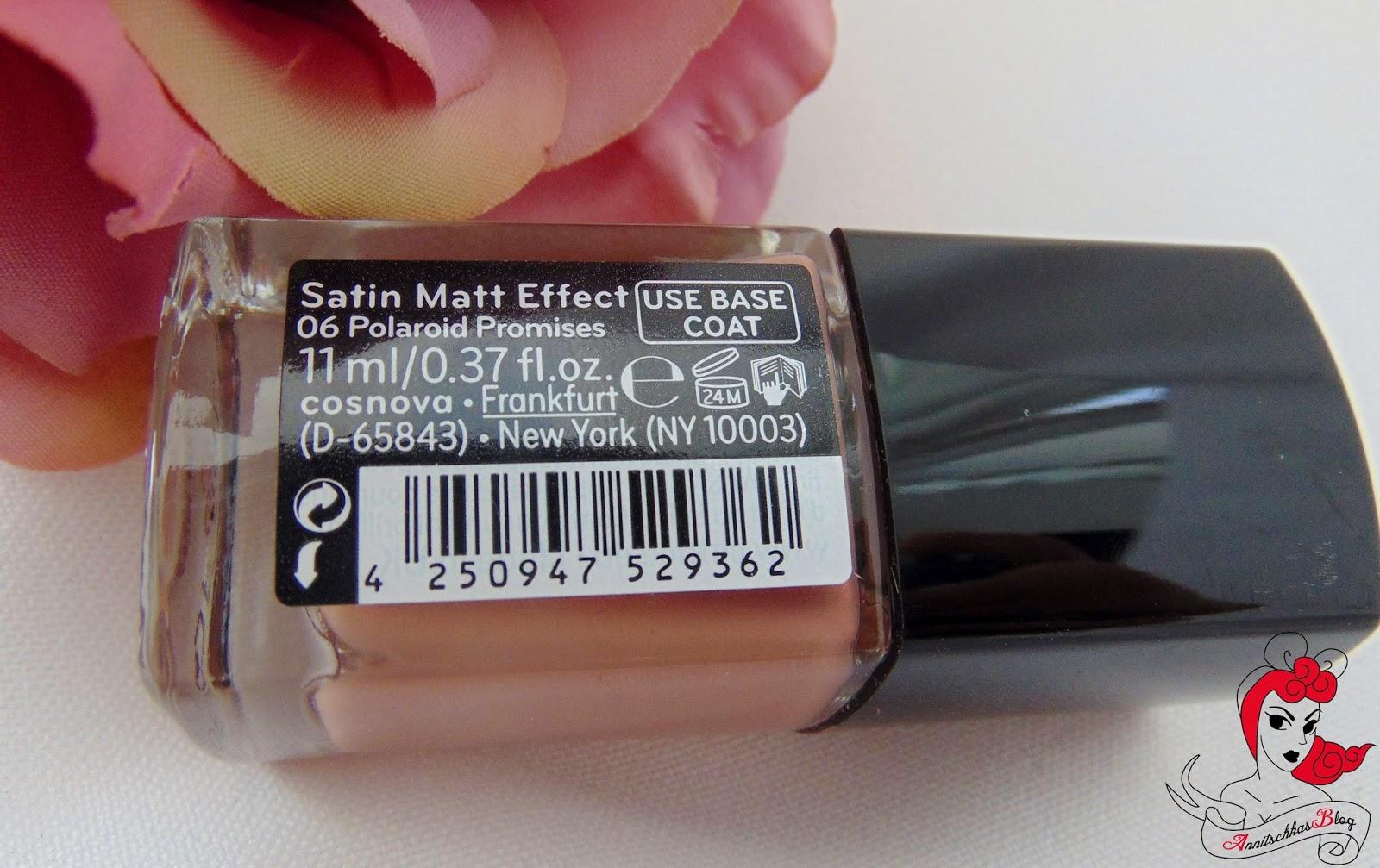 Catrice - Luxury Vintage - Satin Matt Effekt - 06 Polaroid Promises - www.annitschkasblog.de