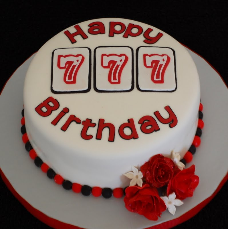 Cakefilley Slot Machine Inspired Cake