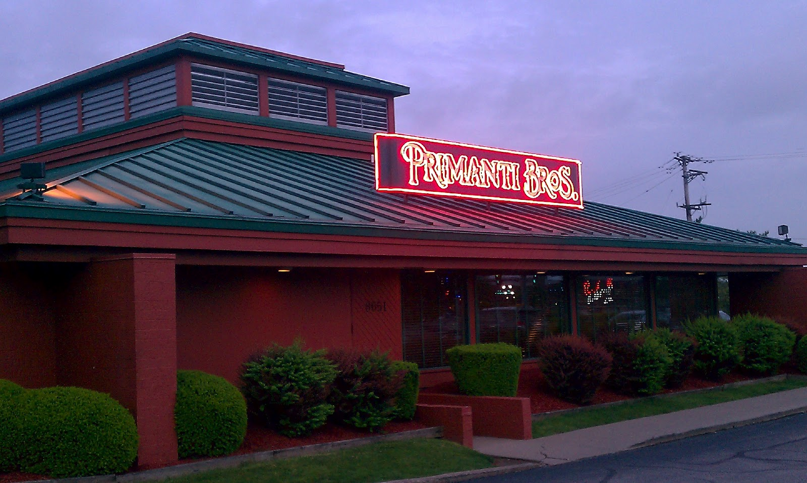 Primanti Brothers - Restaurants - 8651 University Blvd, Coraopolis, PA, United States