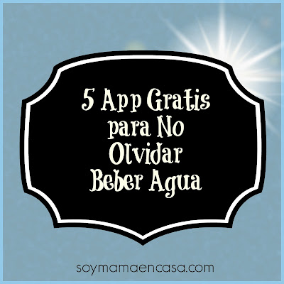 5 app para no olvidar beber agua