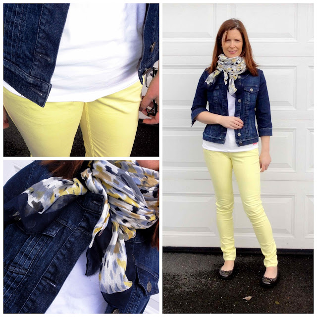 BWD6+Collage Yellow Jeans from Black White Denim   6 Different Ways