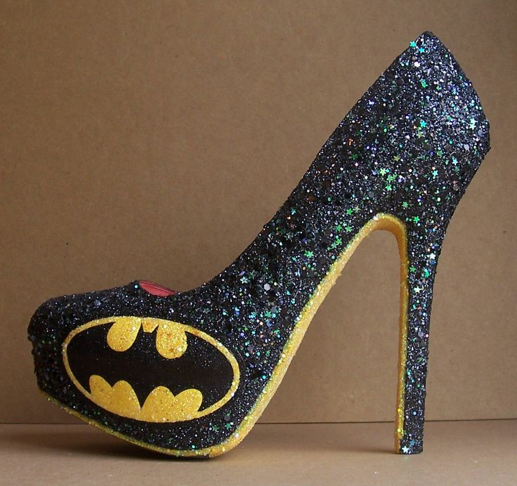 Beautiful Batman High Heels