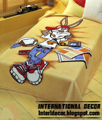 looney tunes bedspreads style color Tweety, looney tunes Bedspreads, blankets for kids room