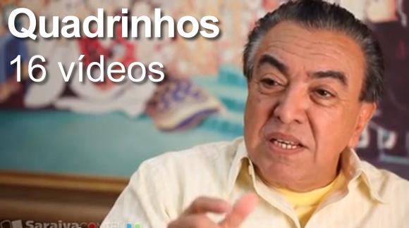 QUADRINHOS - SARAIVA CONTEUDO (16 VIDEOS)