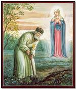 Όραμα της Θεοτόκου στον άγιο του Θεού, Σεραφείμ