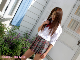 Mizuho Shiraishi Japanese Sexy Model Sexy Janpan Student Uniform From BEJEAN ON LINE 6