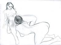 dessin pornographique lesbians cunnilinctus