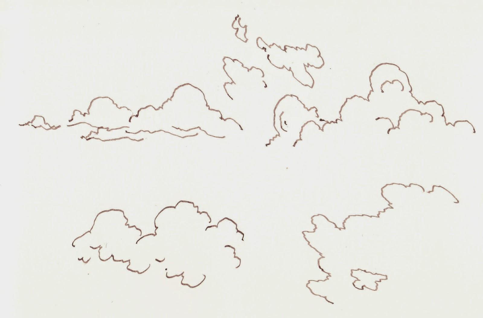 collines et montagnes le vgtal occupe les premiers plans du paysage il nest pas rare de distinguer dans le lointain quelques lignes de crtes de - Dessin De Nuage