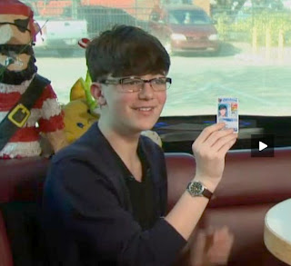 Greyson Chance Drivers License Wearing Glasses 2013 Video