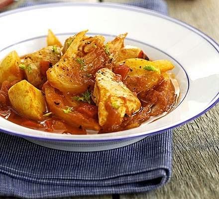 Fish Fennel and Tomato Ragout