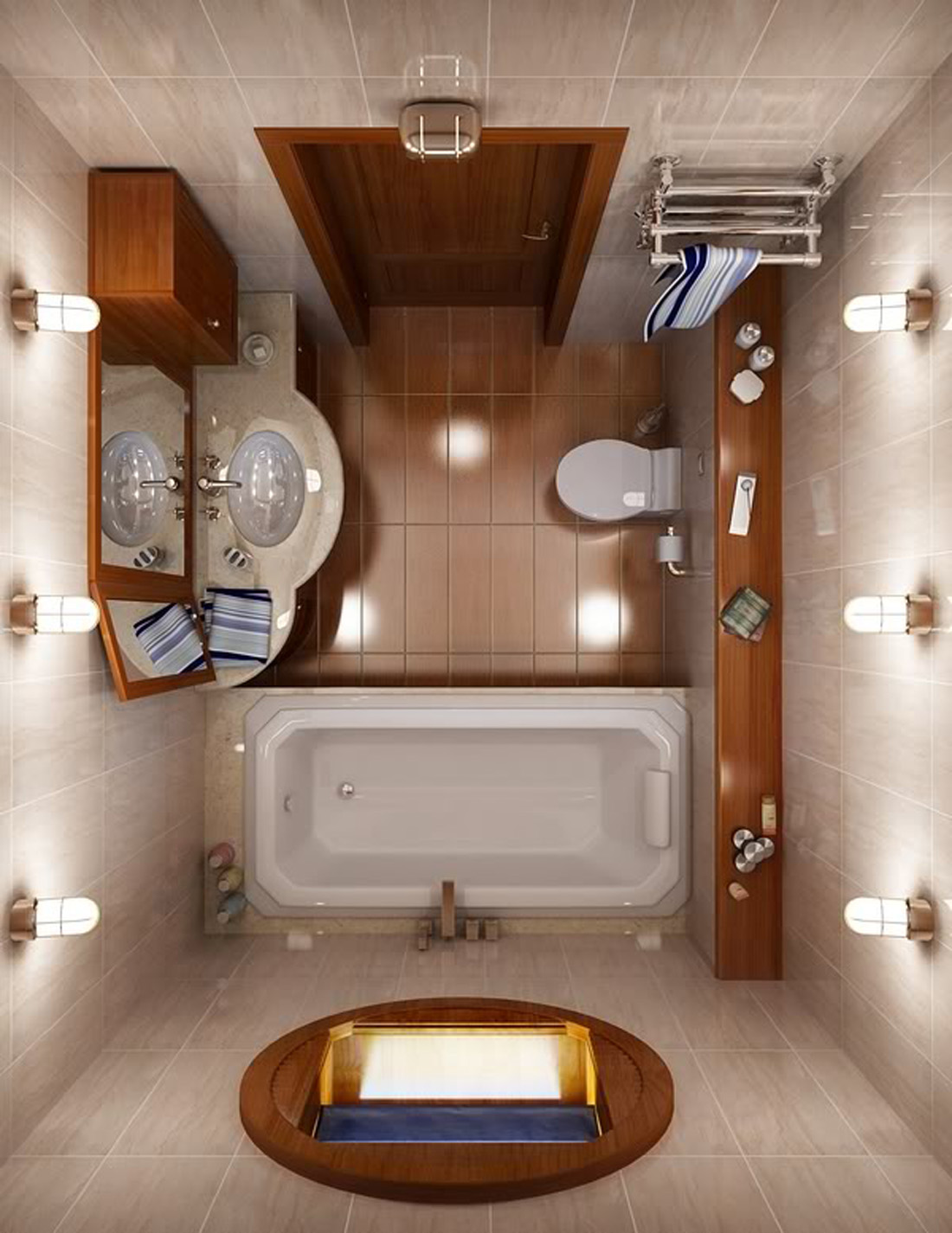 6x9 bathroom layout - Small Bathroom Ideas Photo Gallery Dream House Experience