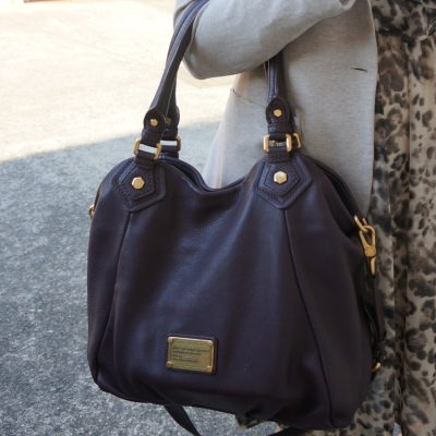 AwayFromTheBlue | Marc By Marc Jacobs Classic Q Fran bag with gold hardware in carob brown