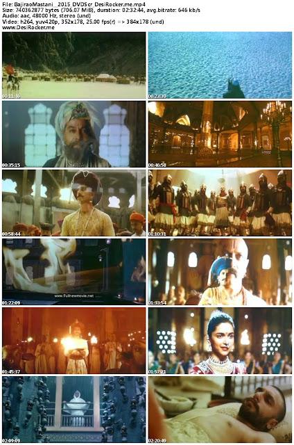 Bajirao Mastani (2015) Tamil Full Movie DVDScr 700mb Download