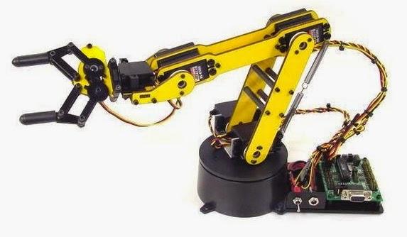 membuat robot arm
